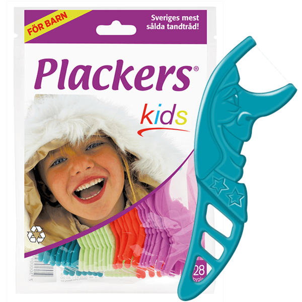 Plackers Kids hammaslankain pussi