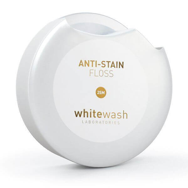 Whitewash Anti-Stain Floss hammaslanka 25 m